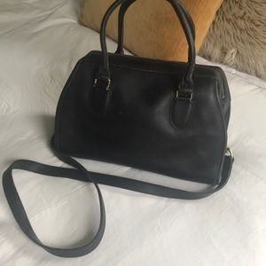 Coach black leather Madison 1147 satchel